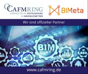 CAFM Ring ist Partner der Initiative BIMeta