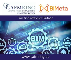 CAFM Ring ist Partner der Initiative BIMeta